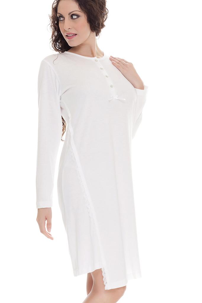 Кремовая ночная сорочка B&B