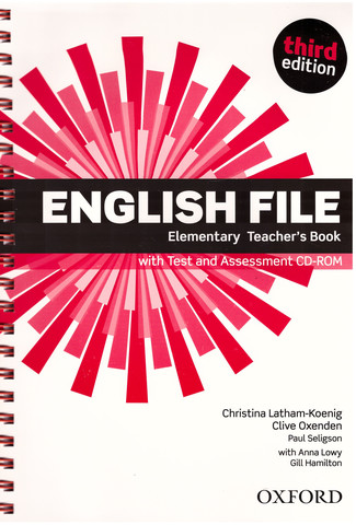 English File (3rd edition) Elementary: Teacher's Book and Test and Assessment CD-ROM