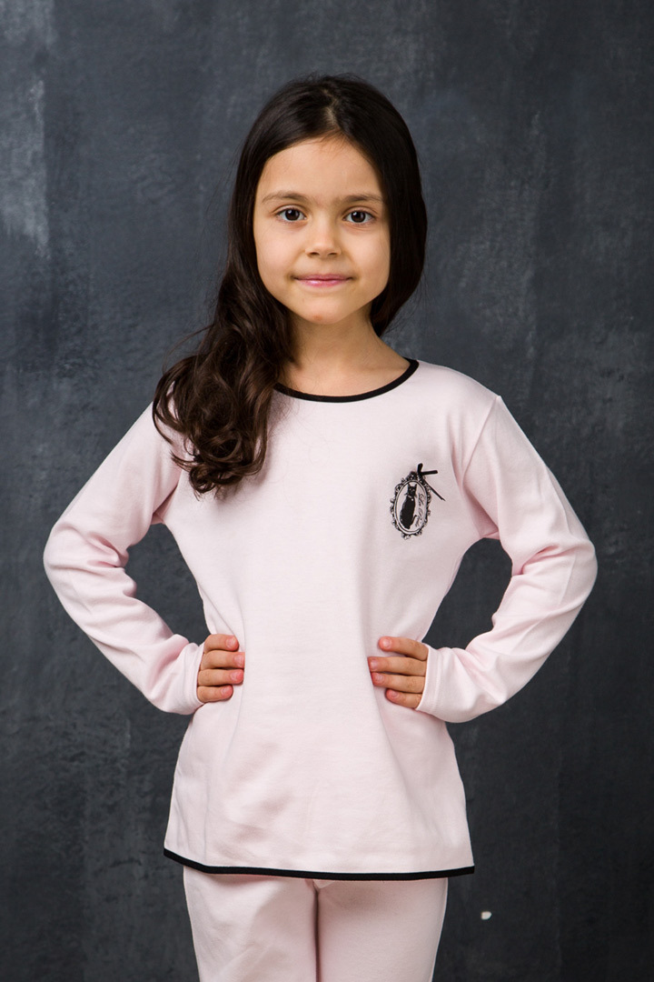 Розовый домашний костюм для девочек La Perla (Для девочек)