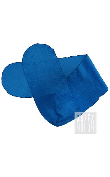 Шарфик из флиса (голубой)