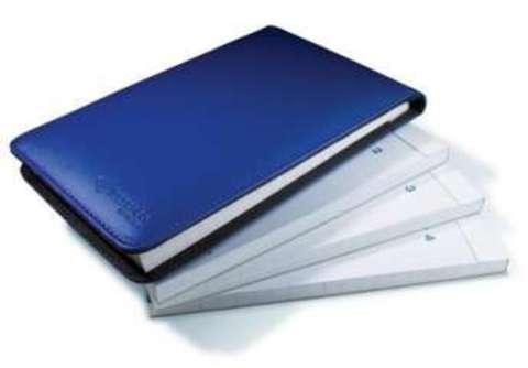 Flip Notepad, 4-Pack - блокнот для Livescribe Pulse Smartpen (Blue)
