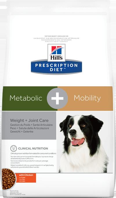 Сухой корм Ветеринарный корм для собак Hill`s Prescription Diet Metabolic + Mobility, контроль веса/здоровье суставов, с курицей мета_.png