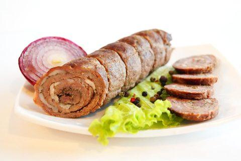 Рулет из говядины и шпига - Вариант приготовления