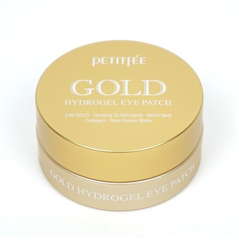 Petitfee Gold Hydrogel Eye Patch, 60 шт