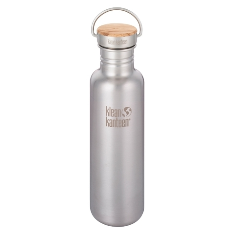 Klean Kanteen Trinkflasche Reflect 800 ml brushed stainless