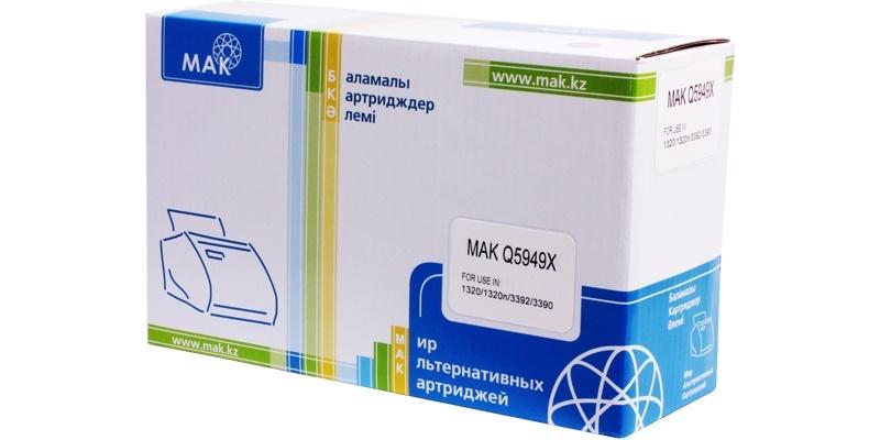 MAK №49X Q5949X, черный, для HP, увеличенной емкости до 6000 стр.