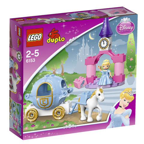 LEGO Duplo: Карета Золушки 6153 — Disney Princess Cinderella's Carriage — Лего Дупло Прицесса Диснея
