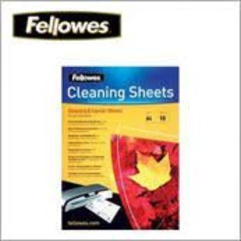 Чистящий лист для ламинаторов Fellowes, 10 шт. FS-53206