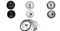 06333-ZW5-01BHE  Комплект приборов 2 шт.(тахометр, тримметр) белого цвета с проводкой