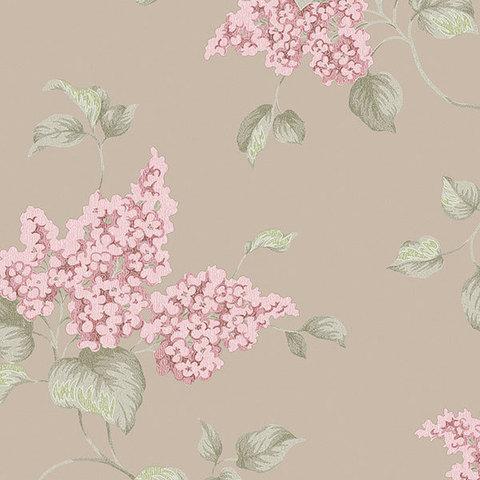 Обои Aura English Florals G34322, интернет магазин Волео