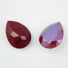 4320 Ювелирные стразы Сваровски Капля Crystal Dark Red (18х13 мм)