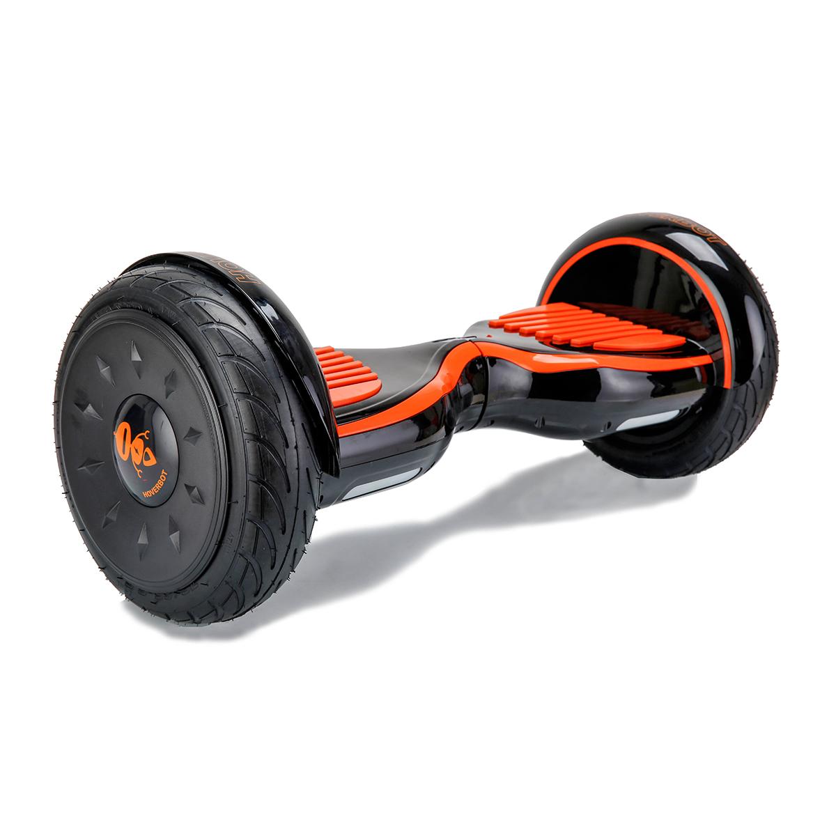 Hoverbot C2 Light черно-красный глянцевый (Bluetooth-музыка + сумка) - 10,5 дюймов - лучший выбор!, артикул: 835931