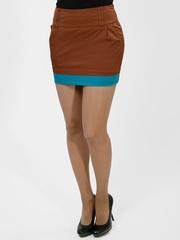 2045-2 юбка коричневая