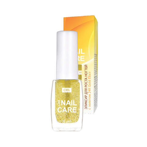 Эликсир для роста ногтей с золотом Nail Care Lux | CIEL parfum