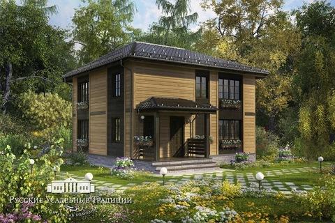 """Двухэтажный дом """"Северини"""" 148 кв.м."""