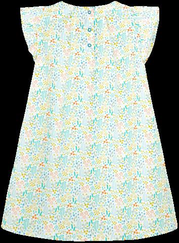 Платье в зеленый принт