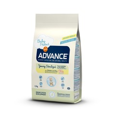 Сухой корм Advance Young Sterilized