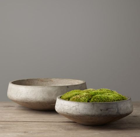 Cast Concrete Bowl