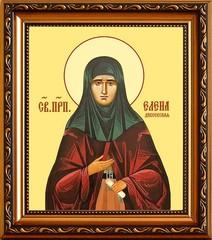 Елена Дивеевская (Мантурова) Преподобная. Икона на холсте.