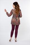 Блузка 01377 цветной