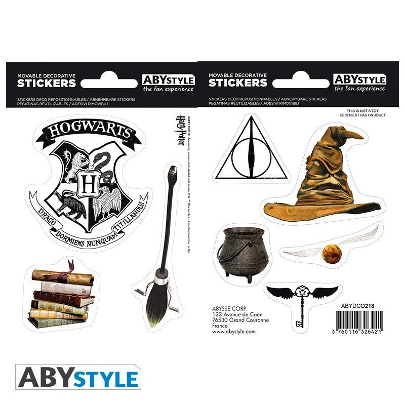 Наклейки ABYstyle: HARRY POTTER: Magical Objects ABYDCO412
