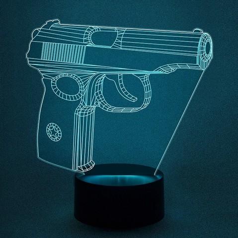 Светильник Пистолет