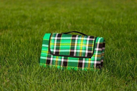 Плед для пикника Sleepy, зеленый