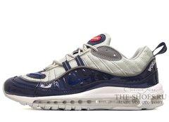 Кроссовки Мужские Nike Air Max 98 Dk Blue Grey