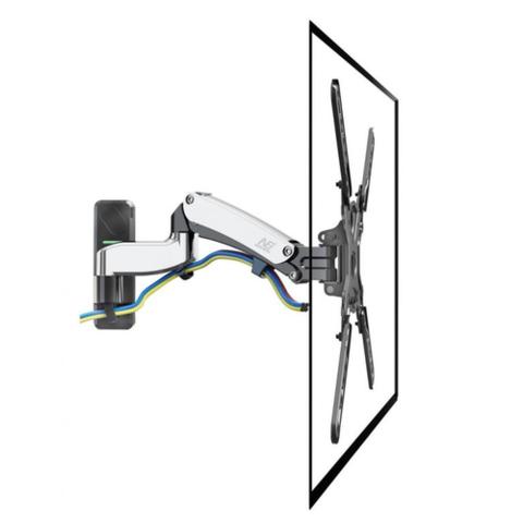 Кронштейн с газлифтом North Bayou NB F450 хром для телевизора и монитора