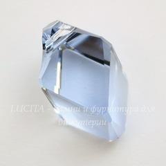 6650 Подвеска Сваровски Cubist Light Sapphire (22 мм)