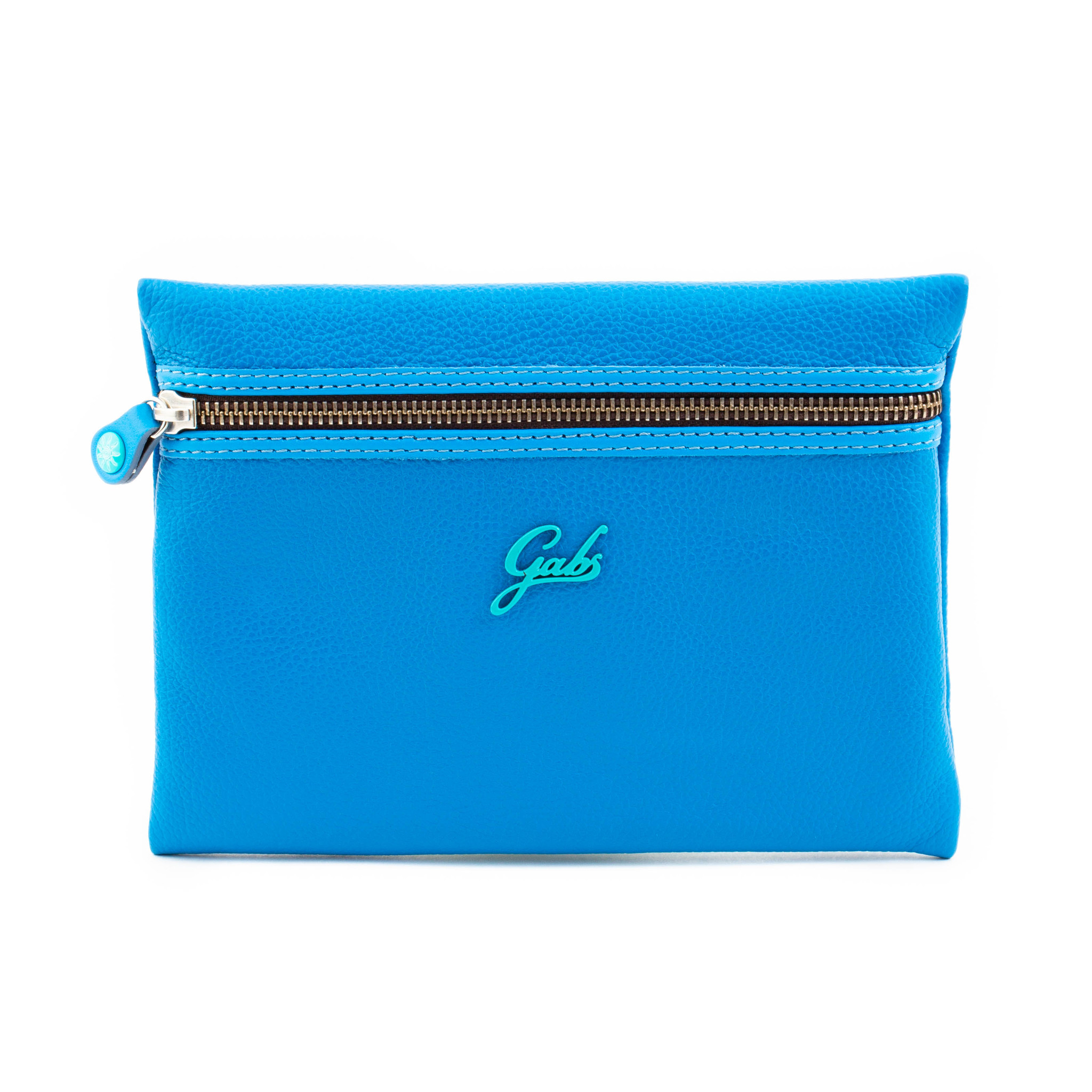 Кожаный клатч Gabs Gpacket Bluette, Italy
