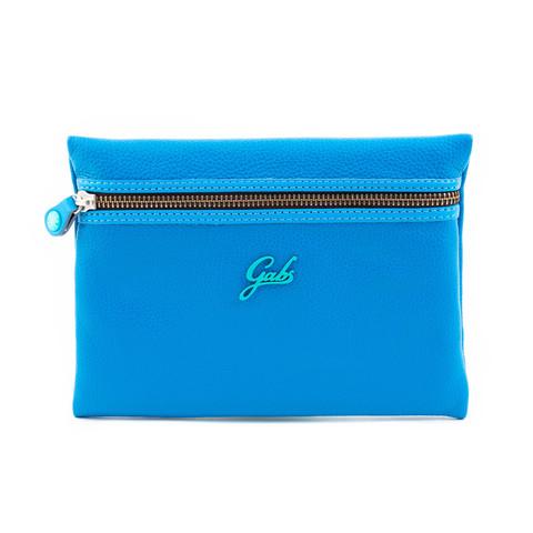 Кожаный клатч Gabs Gpacket Bluette, Italy, фото 2