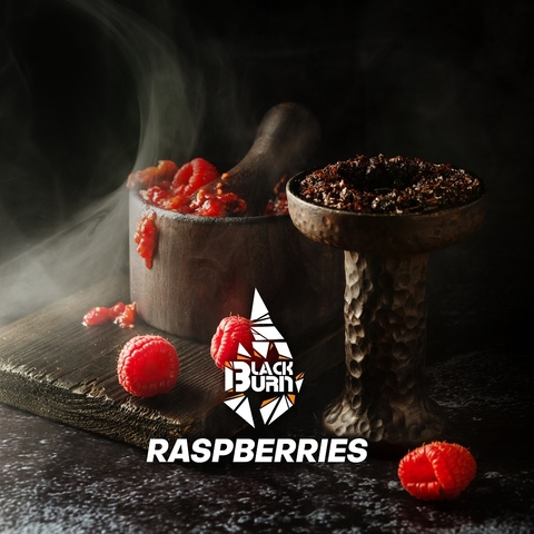 Табак Burn Black Raspberries (Малина) 100 г