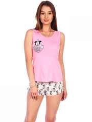 1340А костюм женский, розовый