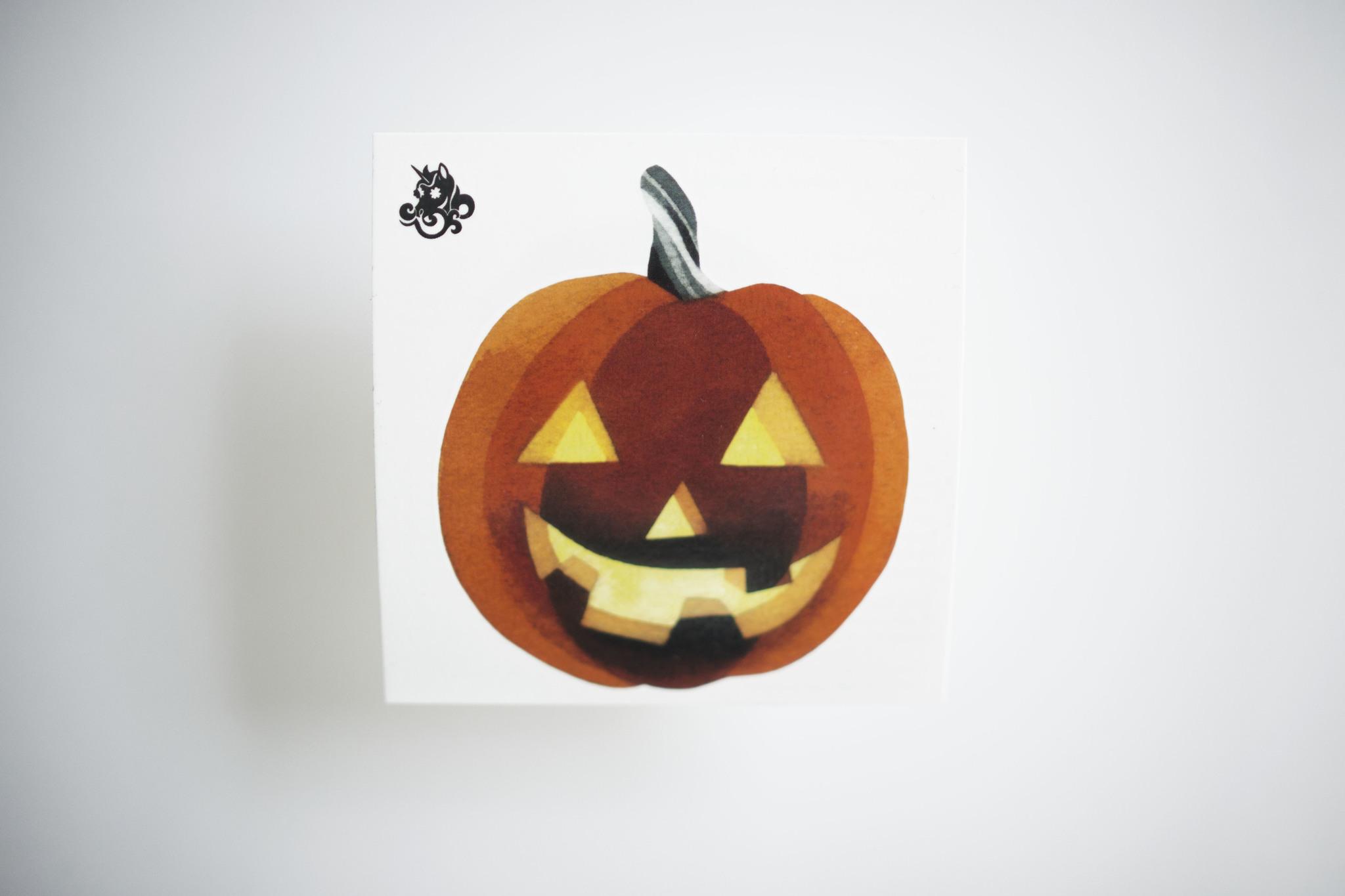 Переводная татуировка Pumpkin