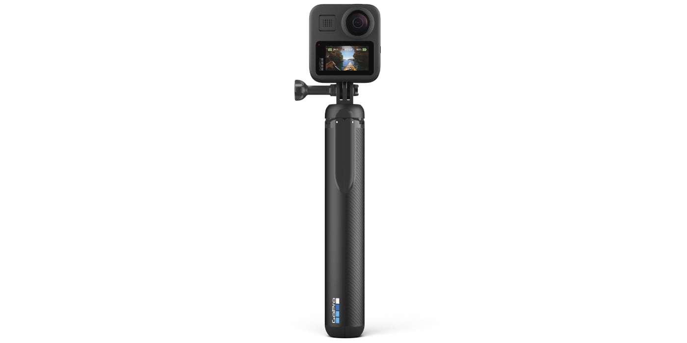 Телескопический монопод-штатив GoPro MAX Grip Tripod (ASBHM-002) вид сзади