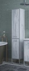 Шкаф-пенал Corozo Айрон 35 напольный, серый