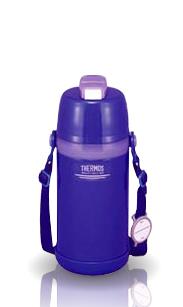 Детский термос для напитков FBI-800C (0,8 литра) голубой