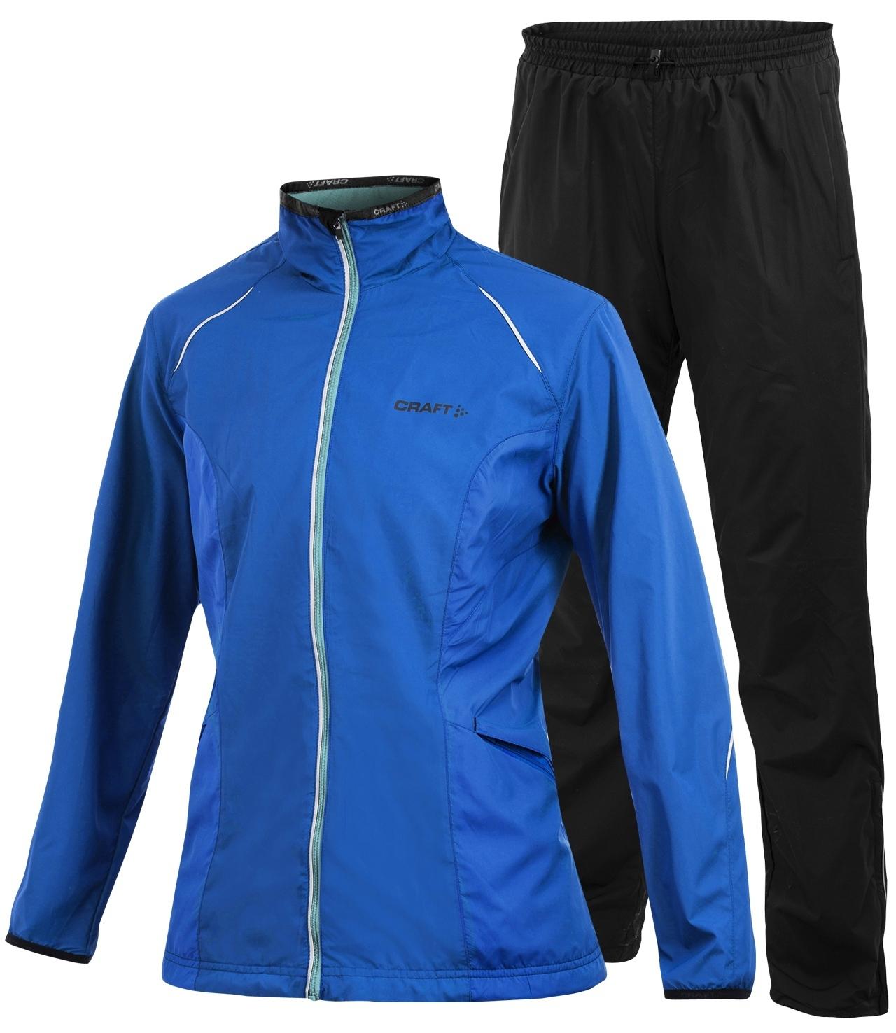 Женский костюм для бега Craft Active Wind Blue распродажа