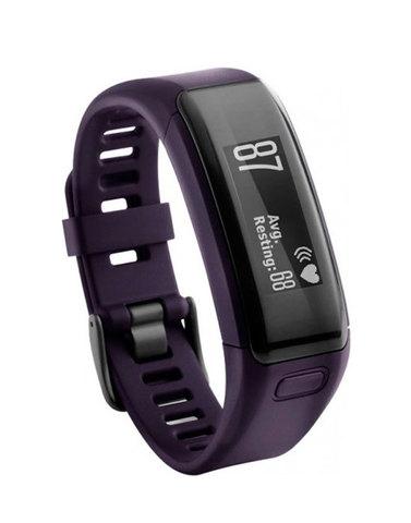 Купить Фитнес-браслет Garmin Vivosmart HR Фиолетовый 010-01955-13 по доступной цене