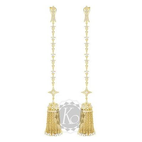 Серьги с кисточками из серебра в стиле Ko Jewelry 4652