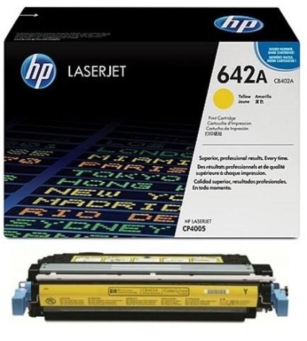Картридж Hewlett-Packard (HP) CB402A №642A
