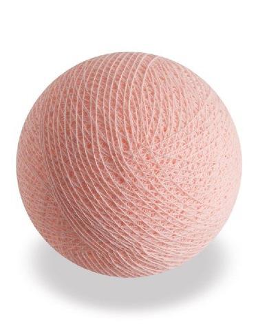 Хлопковый шарик персик
