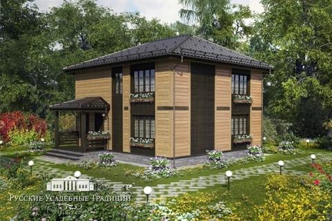 """Проект двухэтажного дома """"Северини"""" 148 кв.м."""