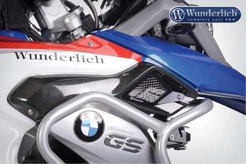 Крышка воздухозаборника правосторонняя BMW R1200GS карбон
