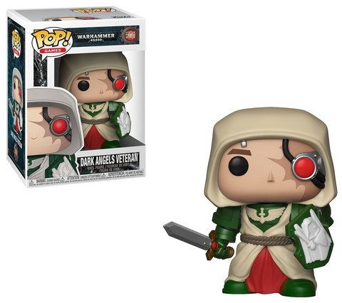 FUNKO POP! Vinyl: Games: Warhammer 40K: Dark Angels Veteran 38326