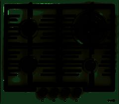 Варочная панель газовая GORENJE GW 6N41ZIW бу