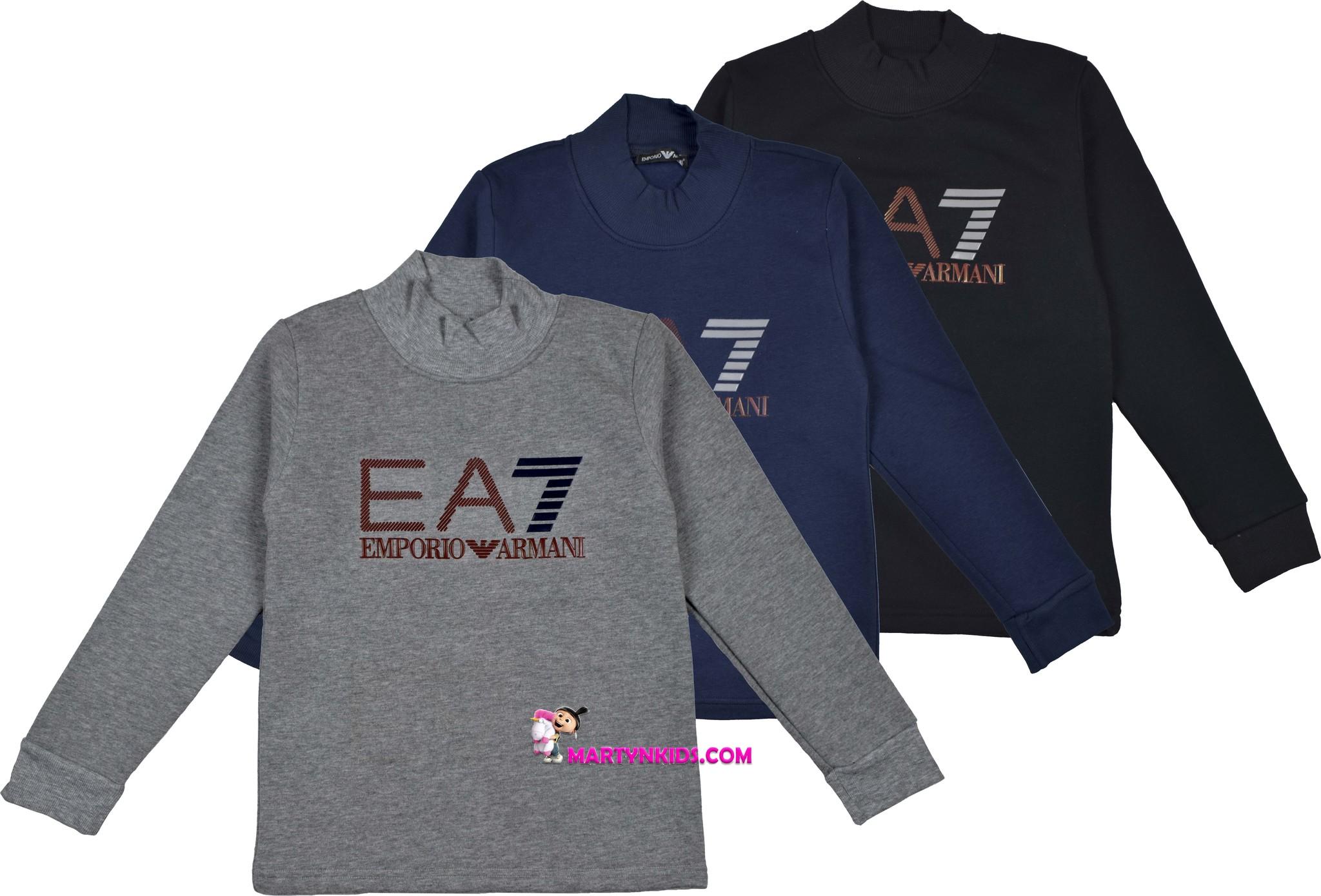 2055  водолазка EA7 флис