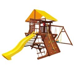 Детская площадка «Солнышко 8-1.50м» со столиком и лавками