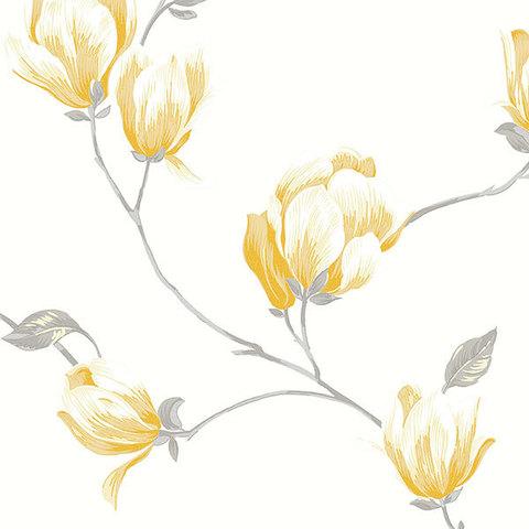 Обои Aura English Florals G34323, интернет магазин Волео